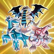 Shiny creation trio