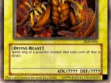 Geflügelter Drache des Ra