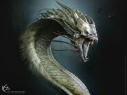 Godzilla King of the Monsters King Ghidorah Konzept Ken Barthelmey