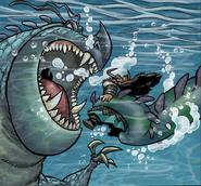 Tiefseespalter Comic