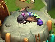 Farbenfroher Sturzflügler