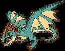 Drachenklassen Spiel Tödlicher Nadder Titanflügler