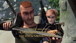 Zu neuen astrid nackt auf ufern dragon Dragons: Auf