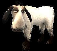 SoD Tier Schaf weiß geschoren