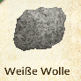 Weiße Wolle