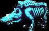 SoD Tier Wildschwein Finsternacht blau