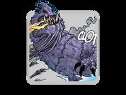 Lila Tod Comic-icon