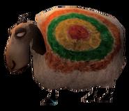 SoD Tier Schaf Ziel weiß