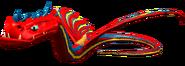 SoD Flügelschlange Rennsattel