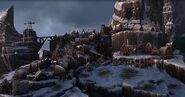 Berk im Winter