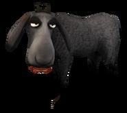 SoD Tier Schaf schwarz geschoren