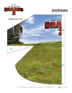 Basteln Diorama Vorlage 1