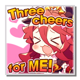 """Mym """"Three cheers for ME!"""""""