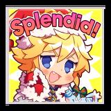 "Dragonyule Xander ""Splendid!"""