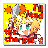 """Euden """"I'll lead the Charge!"""""""