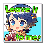 """Alfonse """"Leave it to me!"""""""