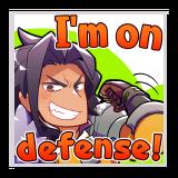 "Ranzal ""I'm on defense!"""