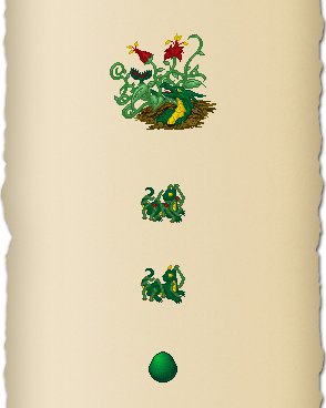 Dark Green Dragon