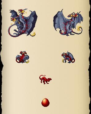Gilded Bloodscale Dragon
