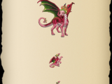 Floral-Crowned Dragon