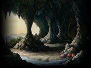 Cave biome art