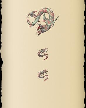 Two-headed sea serpent