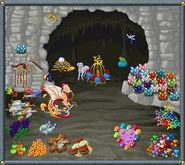 Valentine's Day Dragon Matchmaking lair example