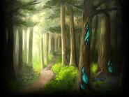 Forest biome art