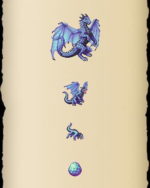 Azure Glacewing Dragon