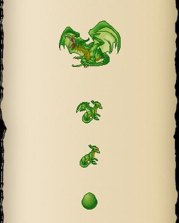 envelope Dragon card Green Dragon incl