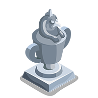 Canopic Silver Trophy