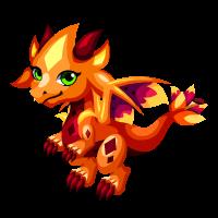 Tiger Lily Dragon