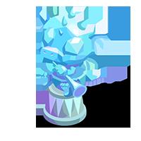 Cherub Crystal Trophy