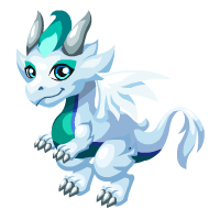 Albino Peacock Dragon