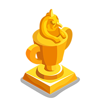Canopic Gold Trophy