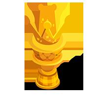 Cake Gold Trophy