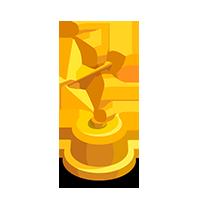 Cupid Gold Trophy