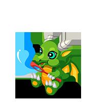 Bubbly Dragon