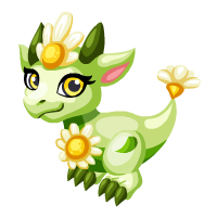 Bright Daisy Dragon