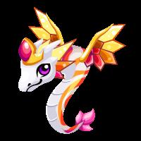 Rainbow Queen Dragon