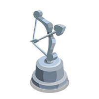 Cupid Silver Trophy