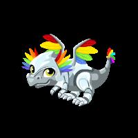 Rainbow Sentinel Dragon