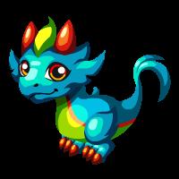 Rainbow Plume Dragon