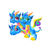 Triple Rainbow Dragon
