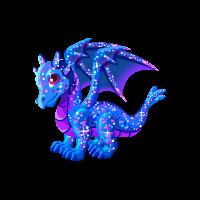 Glitter Dragon