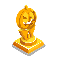 Crystal Gold Trophy
