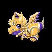 Gilded Knight Dragon