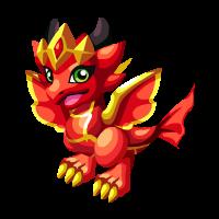 Flame Queen Dragon