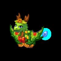 Wreath Dragon