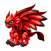 Cardinal Dragon